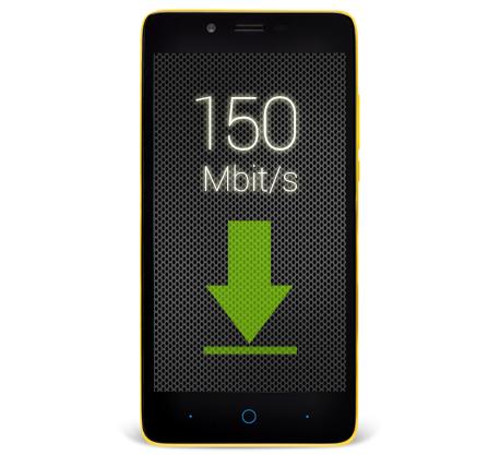 Невероятно быстрая сеть 4G LTE